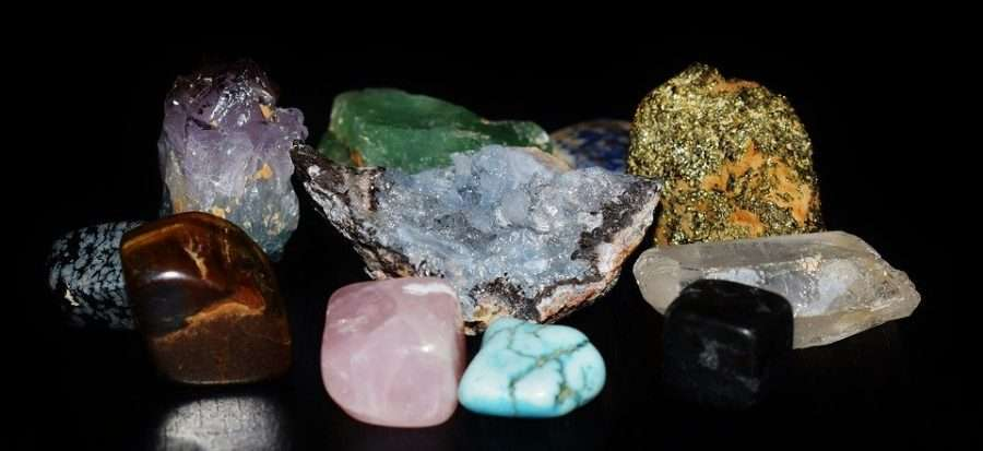 healing astrology crystals