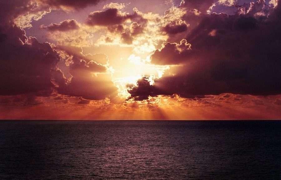 enjoying sunsets
